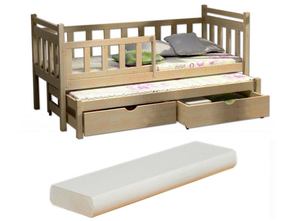 e5d8bea12c4e Detské postele s prístelkou 200x90