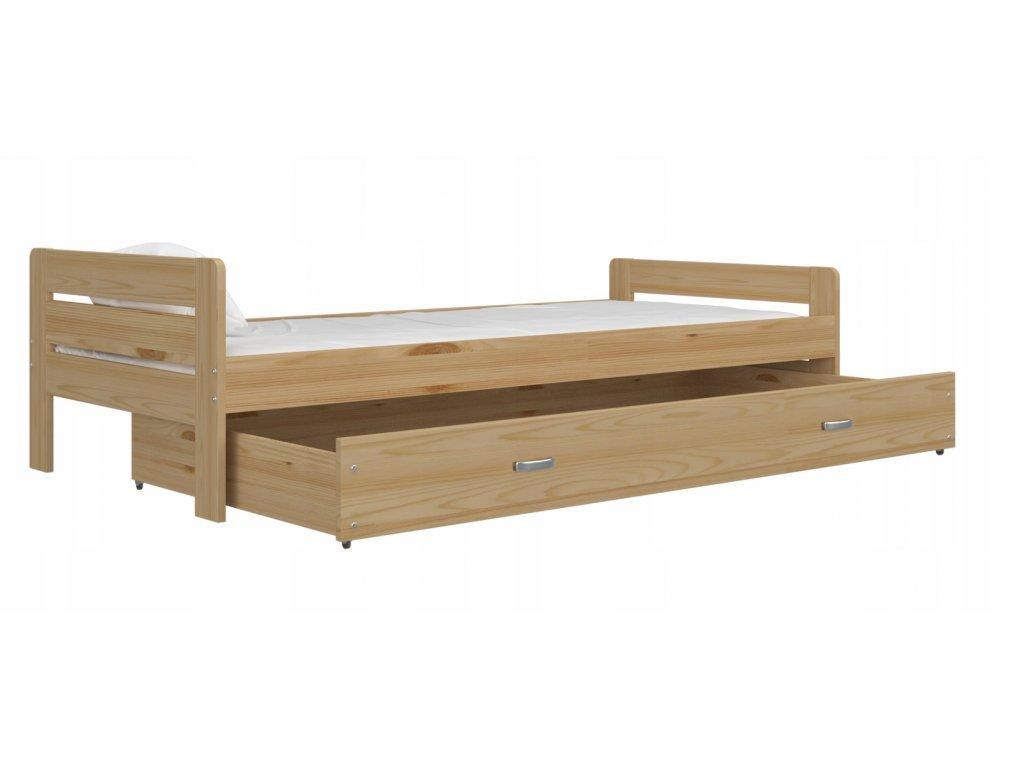 Bartek 200x90 Borovica s kvalitným matracom