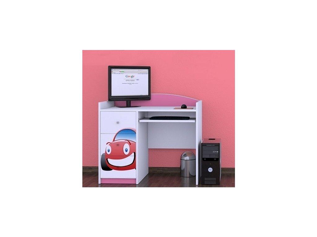 Happy Pink B10 detský PC stôl