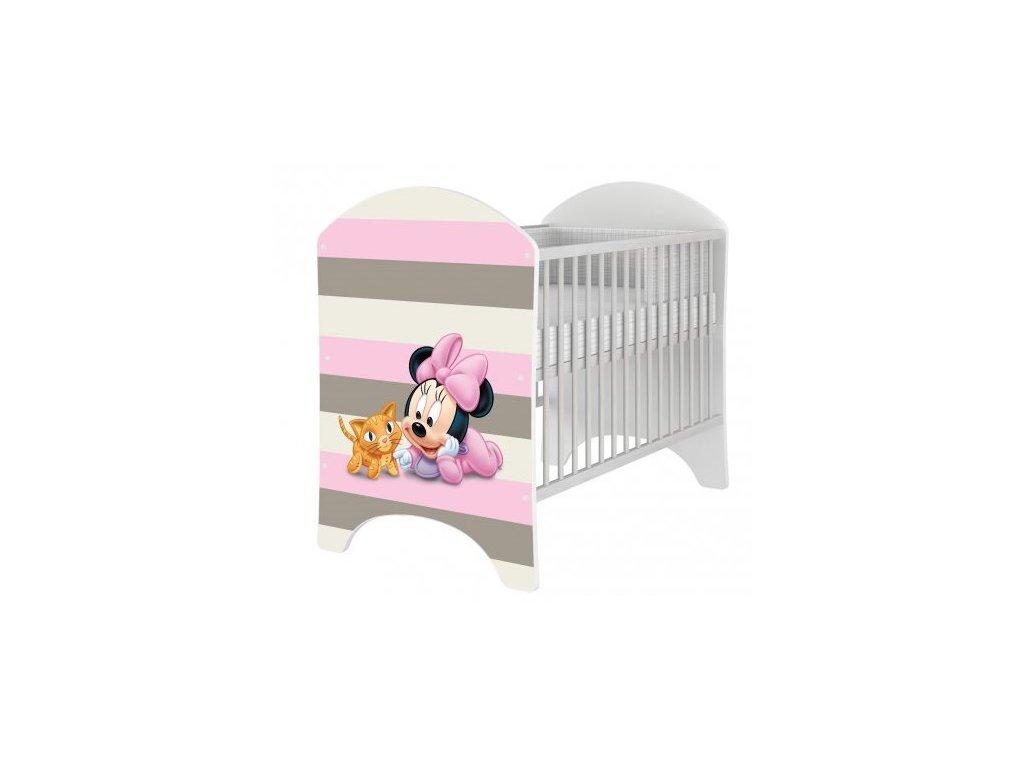 Detské postieľky Disney Minnie baby