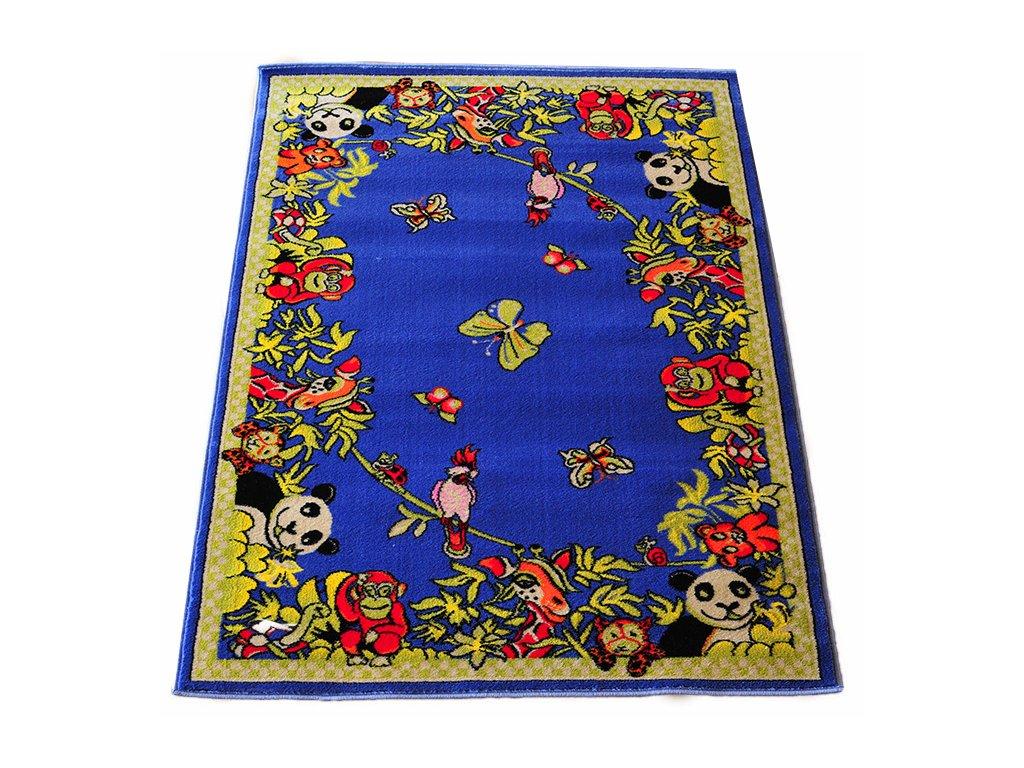 Detsky koberec 133x190 Blue 13