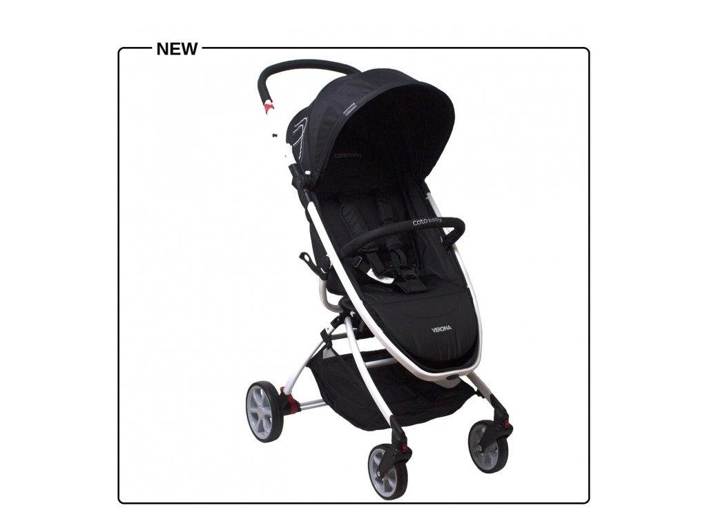 Kočík Coto Baby Verona Čierny