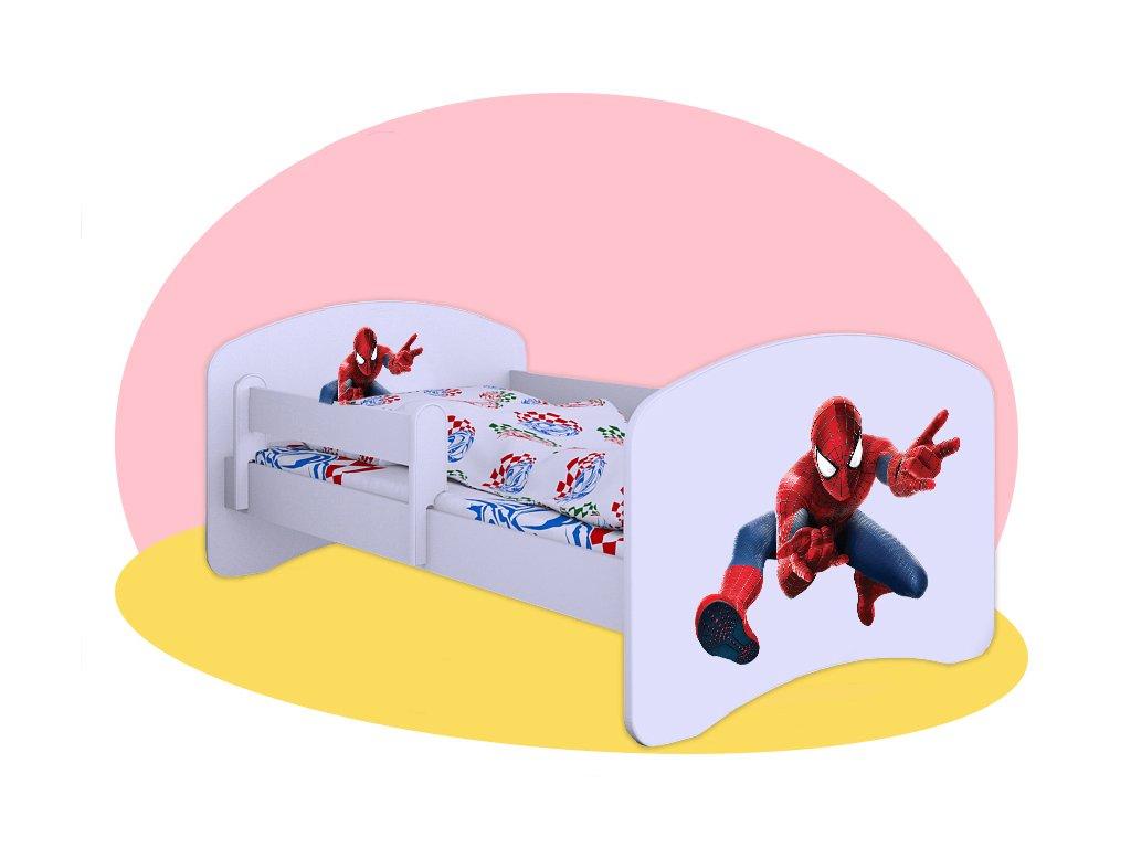 Posteľ Spiderman Hobby 140x70