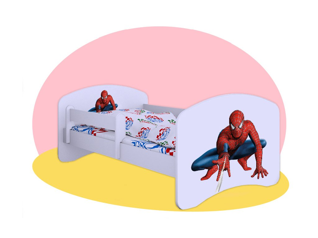 Hobby posteľ Spiderman 2 160x80