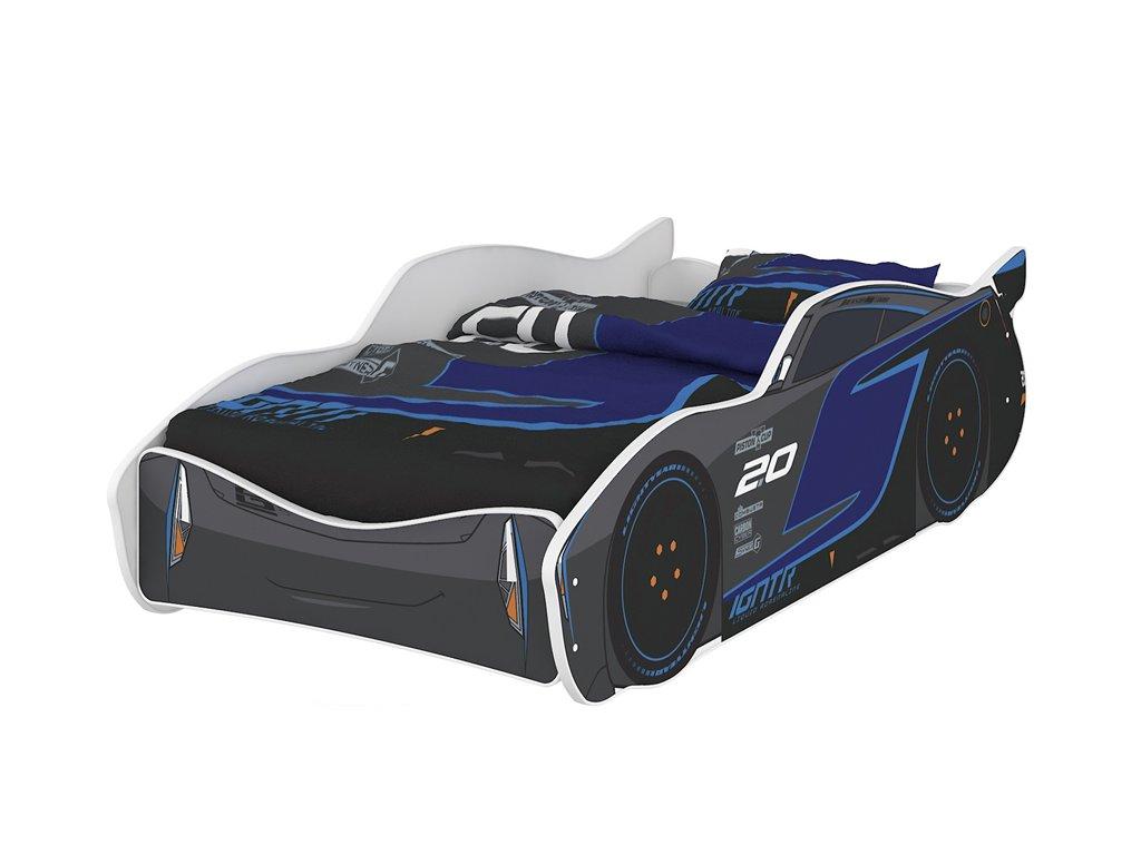 Detská posteľ auto ZygZak Storm 160x80