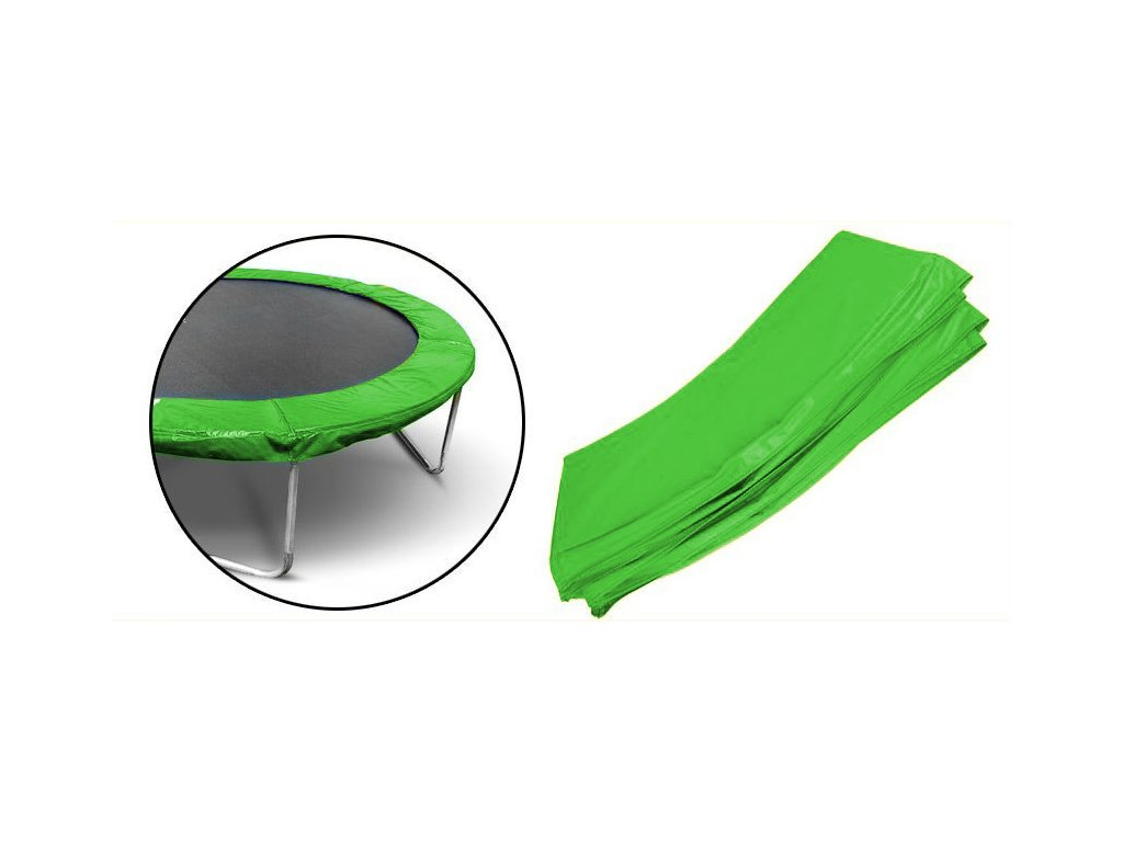 Chránič na pružiny 366/374 cm, 12 ft - zelený