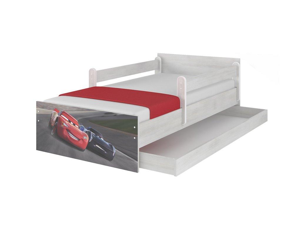 Disney Max 160x80 Cars 3 Storm posteľ