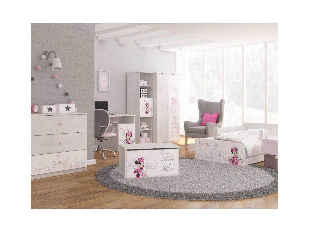 d02988a6df216 Detská izba Max X Disney Minnie Paris (3 ks)