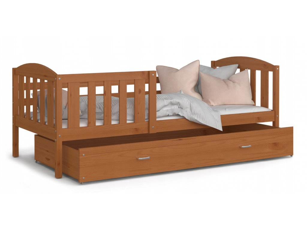 Posteľ pre deti Kubus jelša 190x80