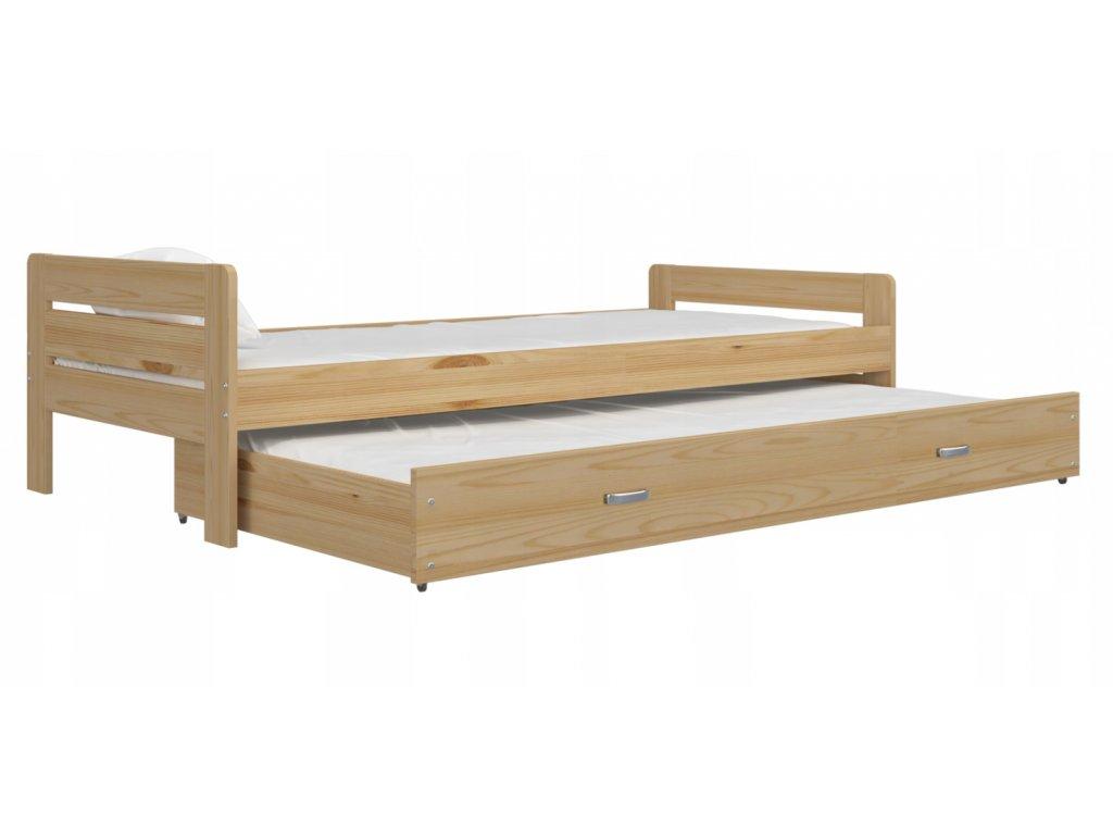 Detská posteľ Ben P2 200x90 borovica