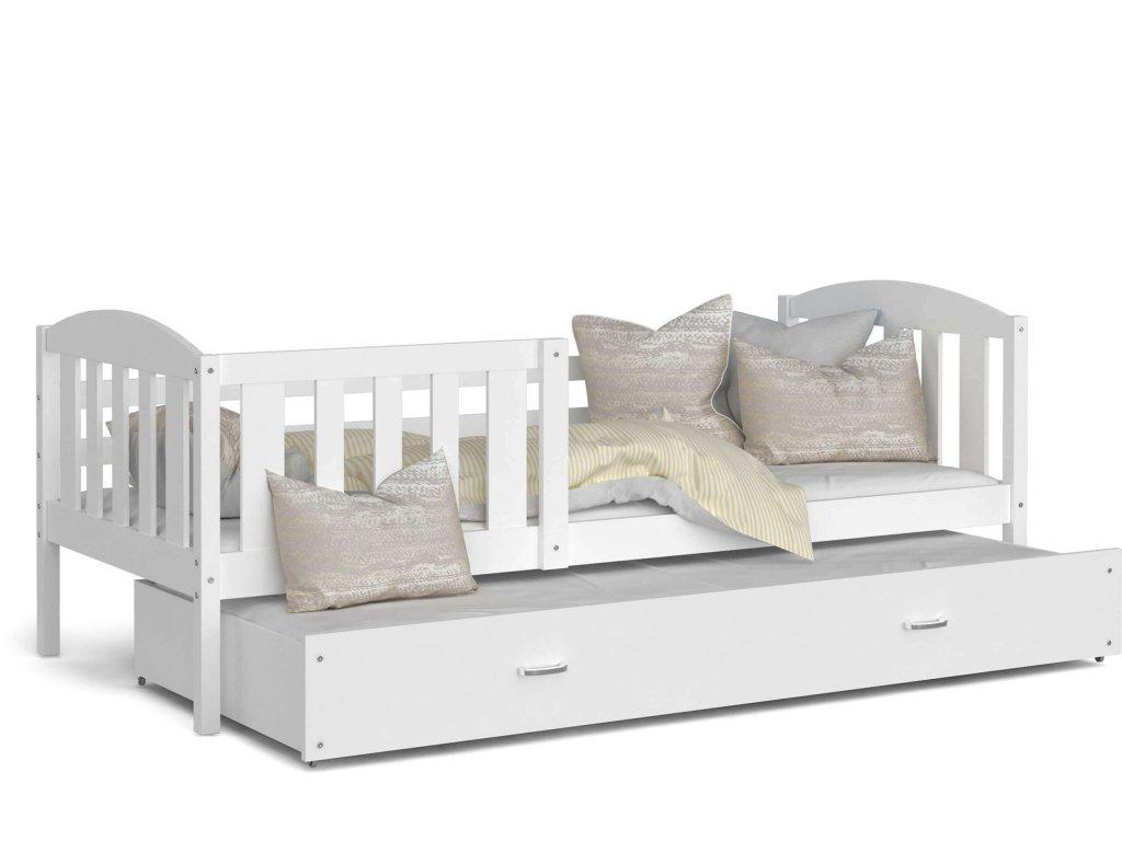 Kuba P2 190x80 biela rozkladacia posteľ