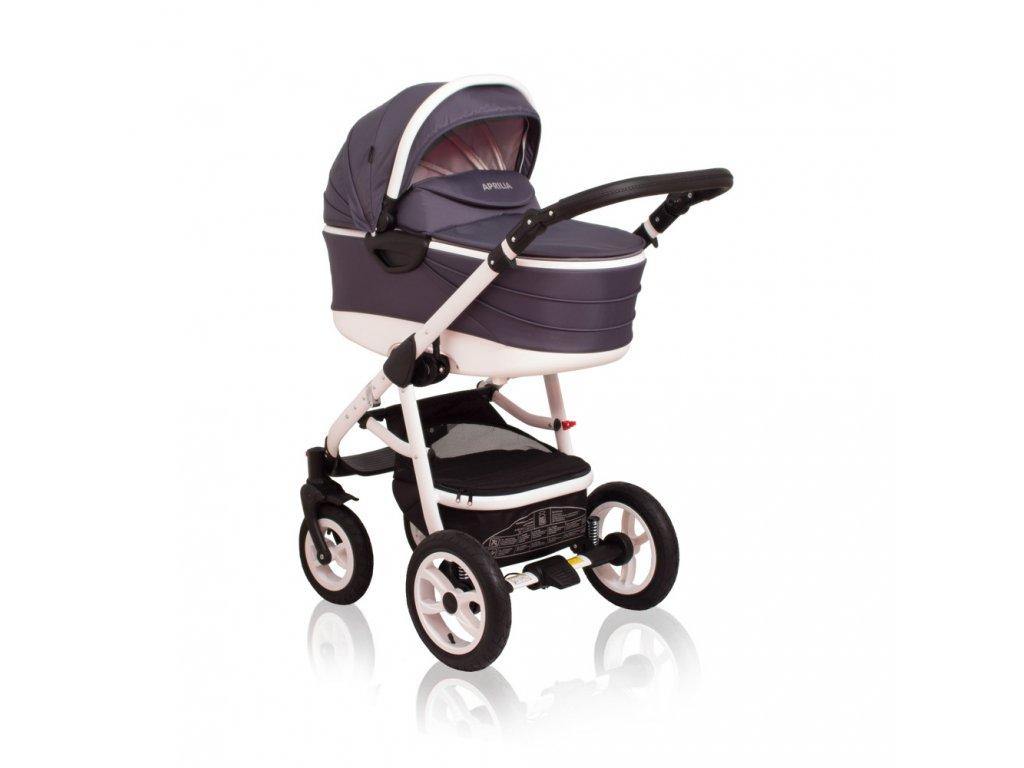 """Kombinovaný kočík Aprilia Coto Baby 3v1 - DARK GREY """"3v1"""""""