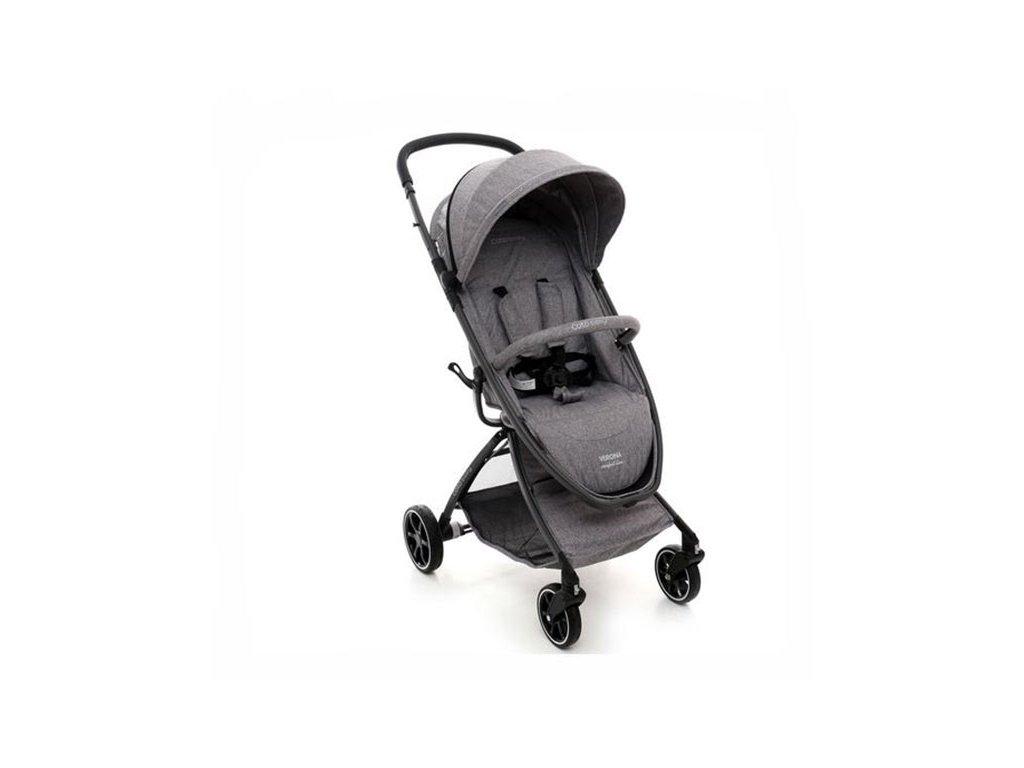 Kočík Coto Baby Verona Comfort Grey