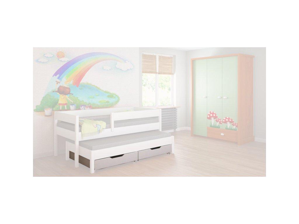 Úložné boxy pre detskú posteľ Junior 160