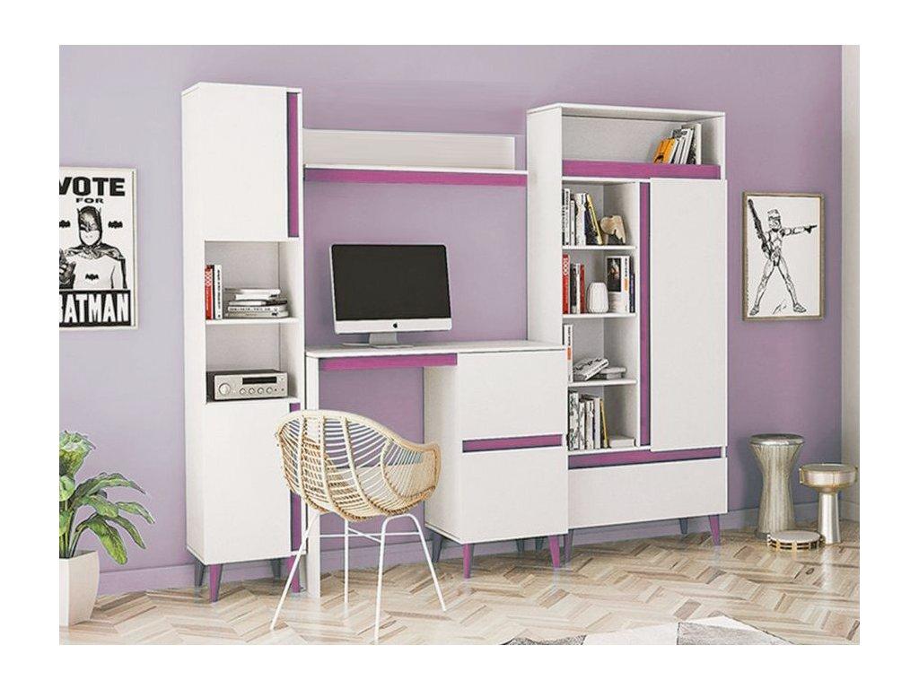 Detská izba TIP 4 - ružová