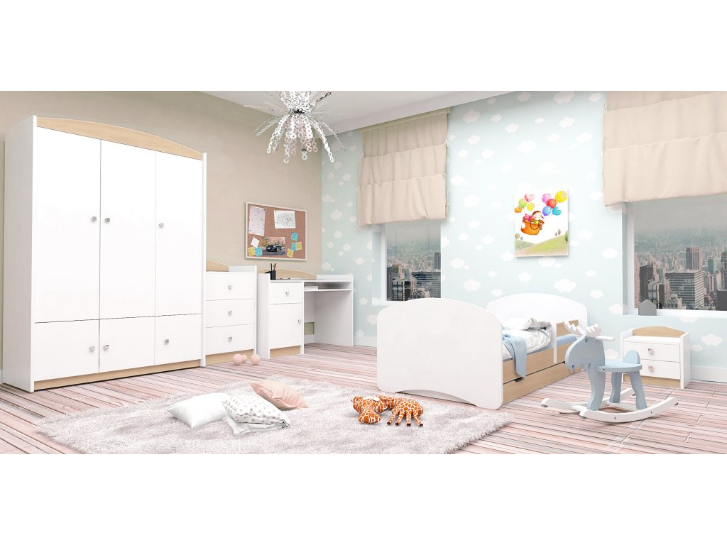 Detská izba Mery - dub sonoma (160x80)