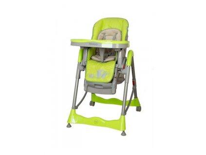 Detská jedálenská stolička Coto baby Mambo Green
