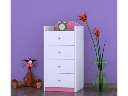 Komoda Happy Pink K02