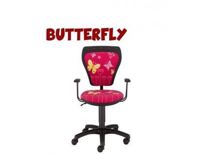Stolička Butterfly