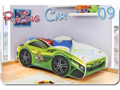 Auto Racing Car 09 detská posteľ