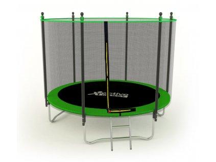 Active Hobby 400 cm + ochranná sieť + schodíky zelená