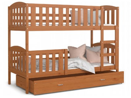 Jakub 5 190x80 Jelša poschodová posteľ