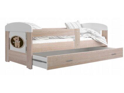 Filip 140x80 Macík č.5 detské postele