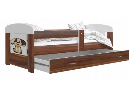 Filip detská posteľ 140x80 Psík č. 7