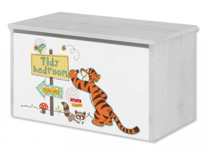 Disney Macko pu a tigrík truhlica na hračky