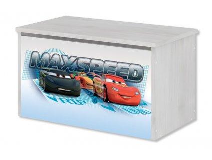 Disney Cars truhlica na hračky