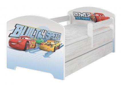Disney Cars 140x70 detská posteľ