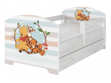 Postele pre deti 140x70 Disney Macko pu baby