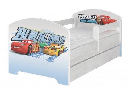 Disney Cars 160x80 detská posteľ