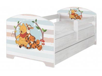 Disney Macko pu baby 160x80 detská posteľ