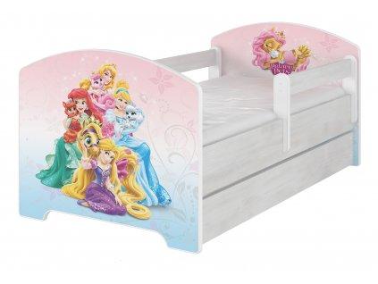 Disney Palace pets 160x80 detská posteľ