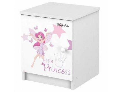 Detský nočný stolík Little princess