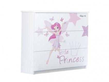 Detská komoda little princess
