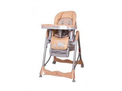 Detské stoličky na jedenie Coto Baby Mambo Brown