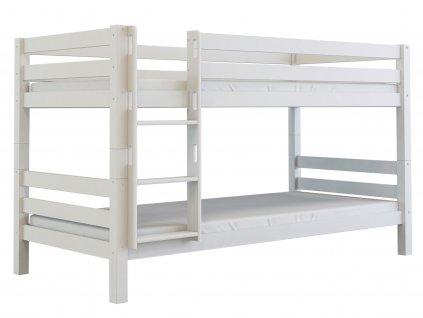 Poschodová posteľ Oliver (200x90) - biela