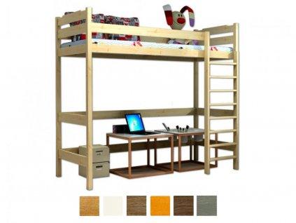 Vyvýšená posteľ Texas 180x80 - viac farieb