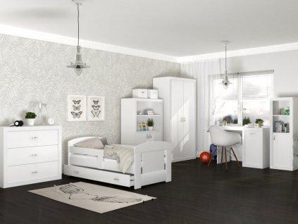 Detská izba Filip COLOR 160x80 - biela
