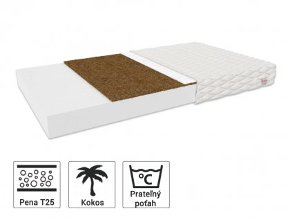Detský matrac Bambino Coir s kokosom 190x90