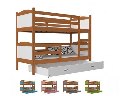 Matúš 2 jelša color poschodová posteľ
