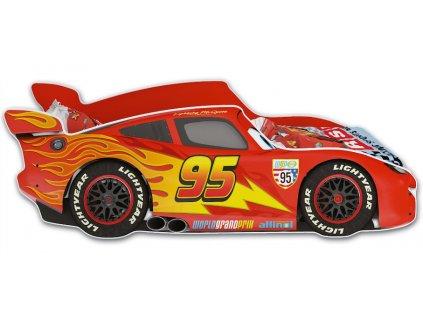 McQueen červená autoposteľ 160x80 Cars