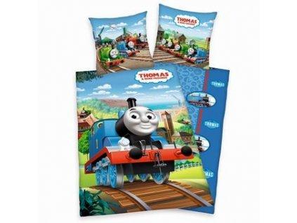 Obliečky vláčik Thomas - výpredaj