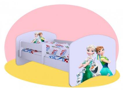 Hobby posteľ Frozen 140x70