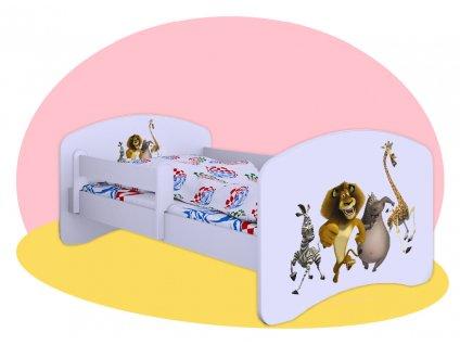 Hobby Madagaskar detská posteľ 160x80