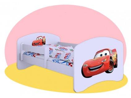 Mcqueen Lightning posteľ pre deti 180x90