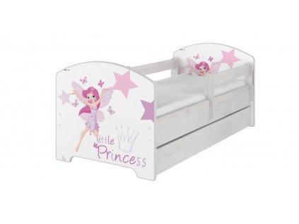 Detská posteľ Oskar Little Princess 140x70