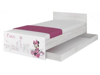 Disney Max 160x80 Minnie Paris detské postele